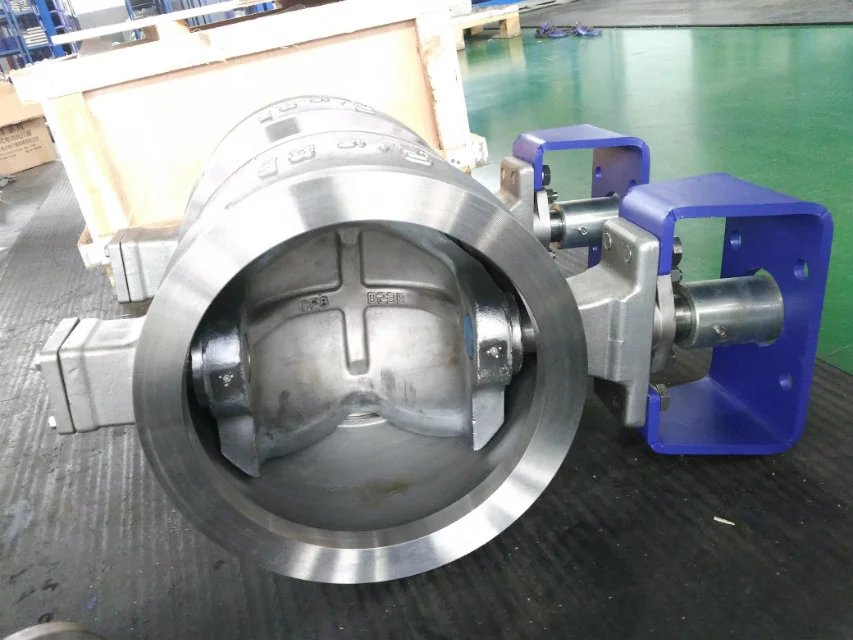 专注专业V型不锈钢球阀-V型对夹球阀厂家直销图片