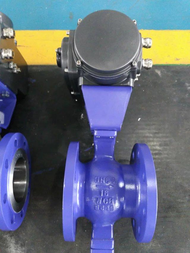 气动v型调节阀-V型气动球阀工作原理