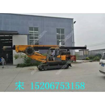 履带旋挖打桩机 专业生产出售机缩杆旋挖钻机
