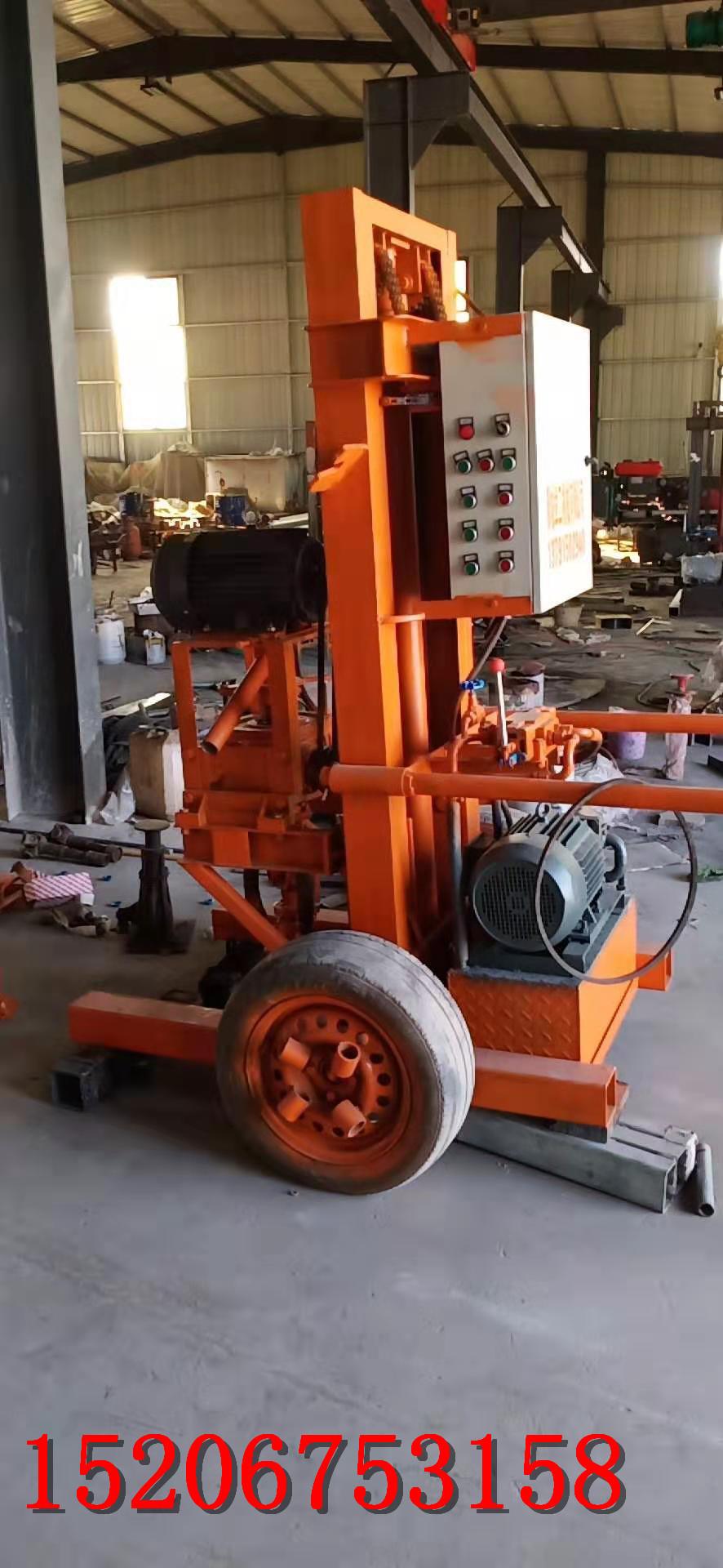 地源热泵钻井机  高效率一天5口井图片