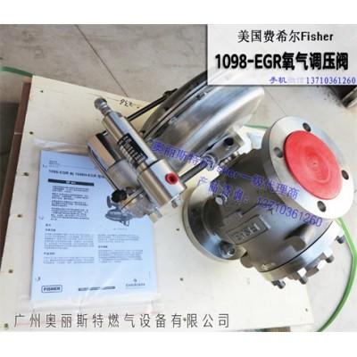 Fisher1098氧气调压阀,氧气阀脱脂脱硫
