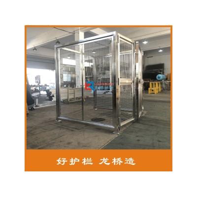 扬州不锈钢车间隔离网 不锈钢设备围栏 机器隔离