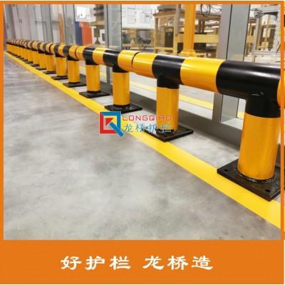 扬州消防栓防撞护栏  厂区防撞护栏 龙桥护栏订制
