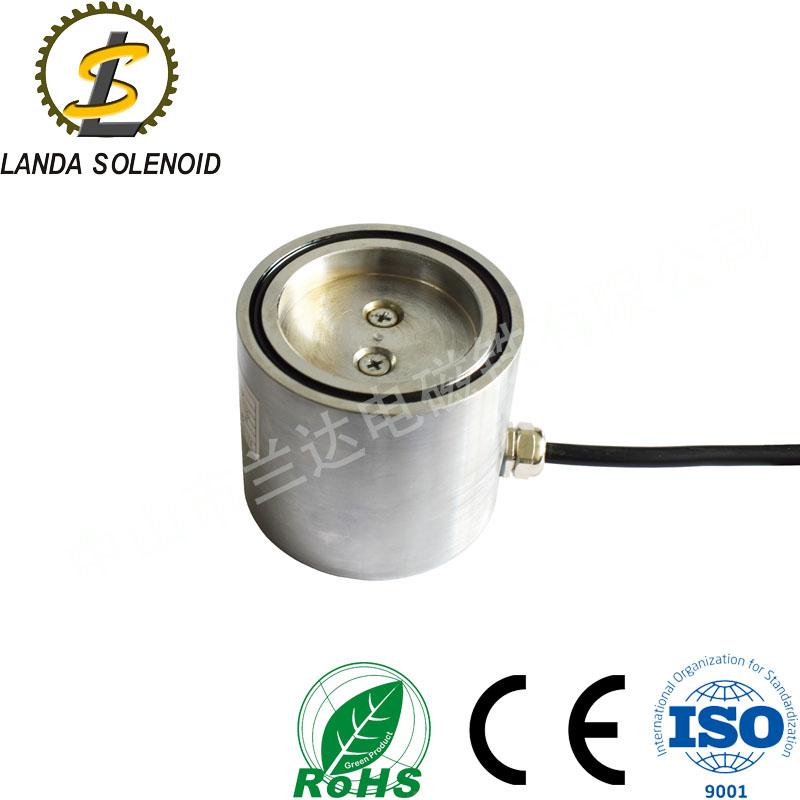 电磁铁厂家定制电磁铁HY8070 圆柱吸盘吸附小圆珠工作