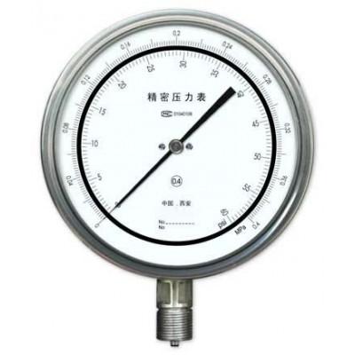 YB-150F不锈钢精密压力表-