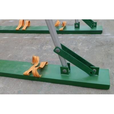 户外趣味运动会铁质协力竞走体育道具器材