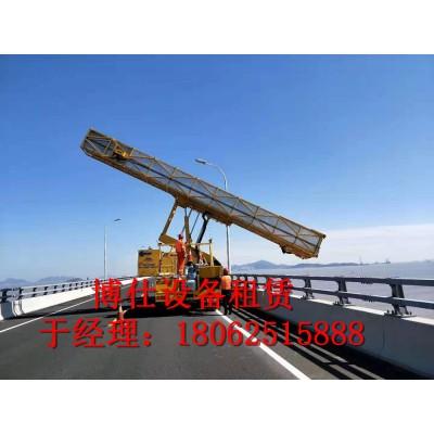杭州20米桥梁检测车,浙江博仕设备租赁桥检车出租用途广泛