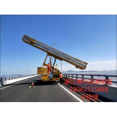 丽水18米桥检车出租,浙江博仕设备出租桥检车性能