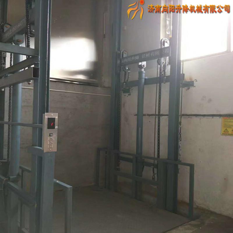 河北厂房专用液压升降货梯货物电梯生产定制厂家固定提升机