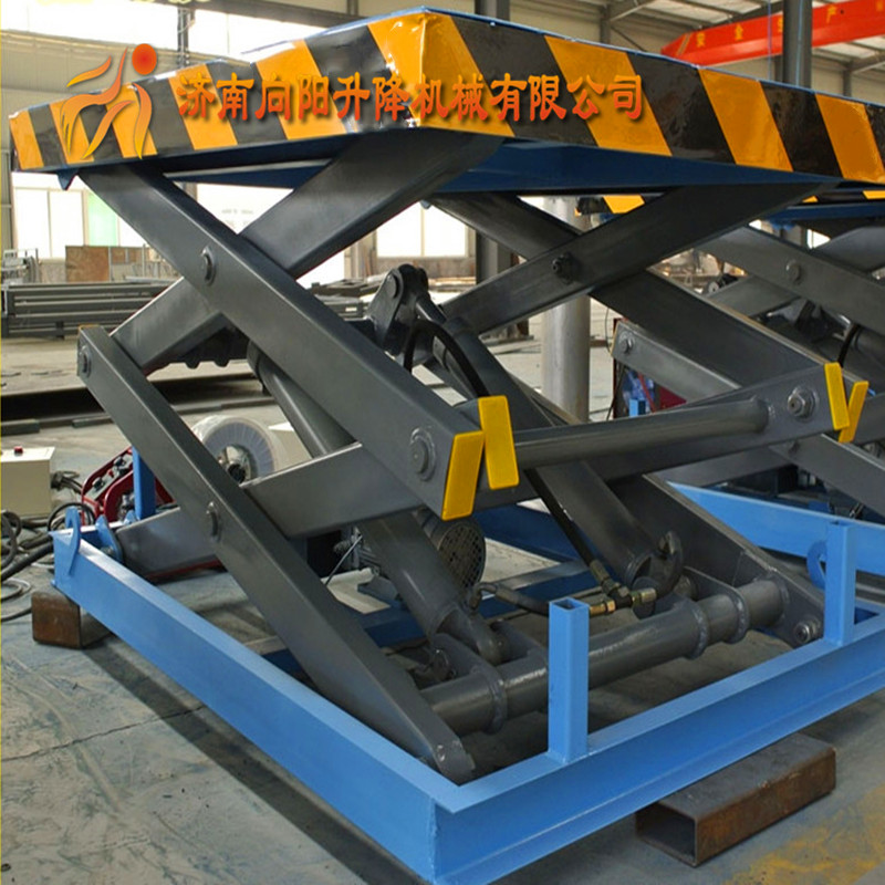 菏泽固定剪叉式升降机移动小型液压装卸台上车台