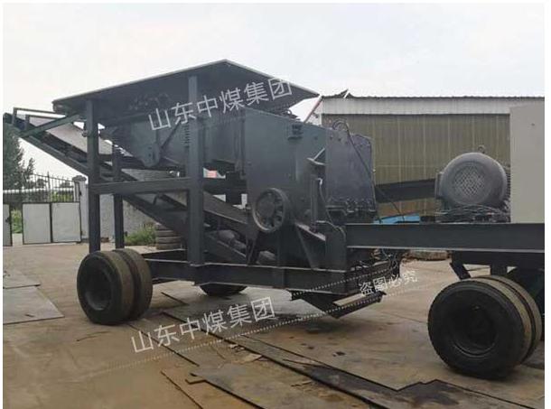 中煤10-15型移动破碎机图片