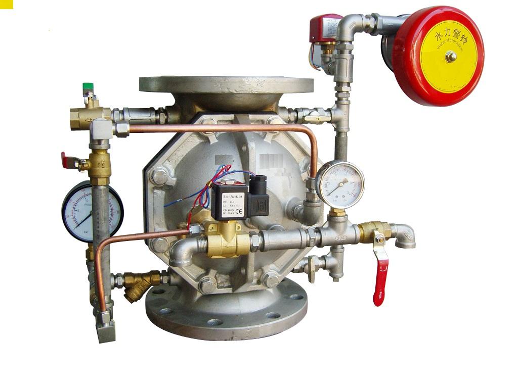 ZSFM系列不锈钢隔膜式雨淋阀图片