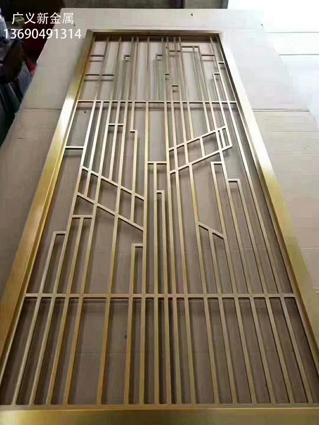 生产屏风不锈钢花格隔断厂家