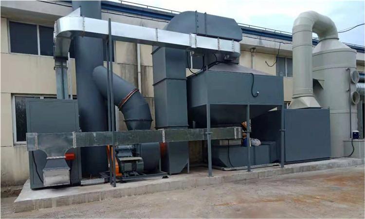 东北催化燃烧设备专家 欣恒工程设备 包环保验收合格图片