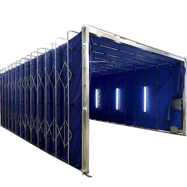 环保型伸缩移动喷漆房 成本低用途广