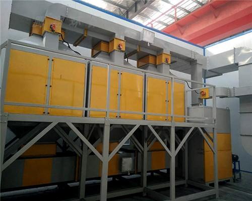 催化燃烧废气处理设备喷漆房处理废气活性碳吸附脱附工业净化设备