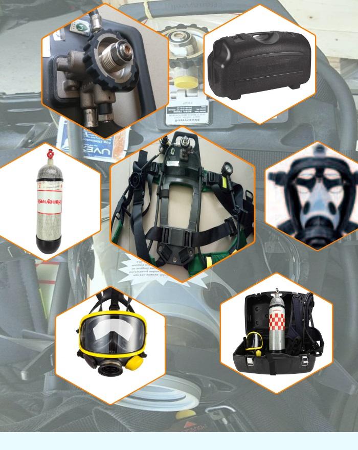 霍尼韦尔SCBA805T他救呼吸器T8000空气呼吸器