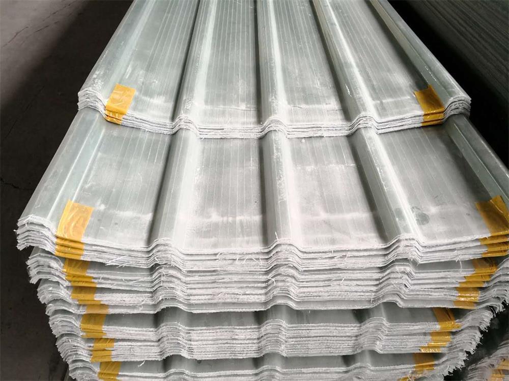 江苏厂家FRP防水透明瓦采光瓦 防腐蚀透明波浪瓦 屋面塑料