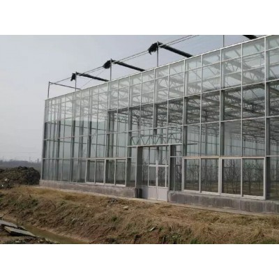 玻璃智能温室大棚骨架加工 山东一道农业科技有限公司