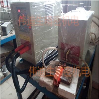弹簧钢板加热用什么加热设备45kw高频加热机
