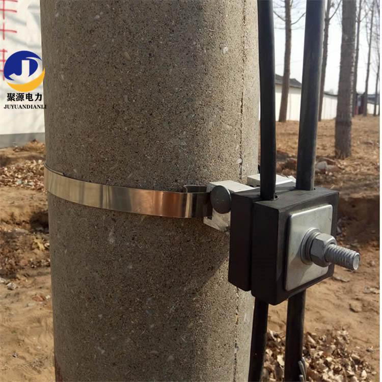 ADSS光缆杆用引线线夹 固定钢带牵线金具