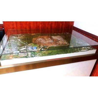 四川风谷三维真彩色实景地形沙盘制作