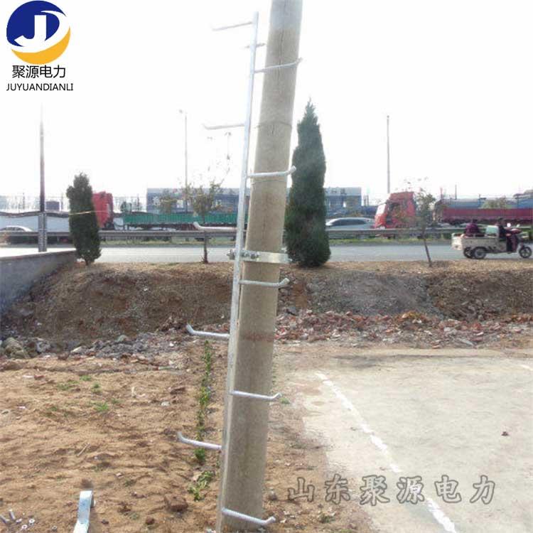厂家定制电线杆爬梯圆管式爬梯钢管式爬梯