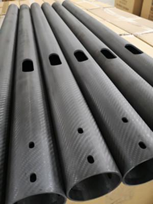 加工生产大直径碳纤维管图片