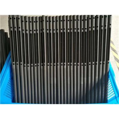 3K斜纹哑光加工碳纤维管