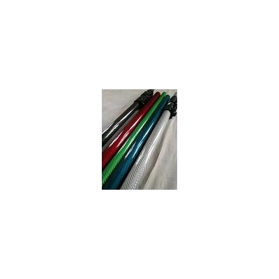 不同颜色亮光3K碳纤维管