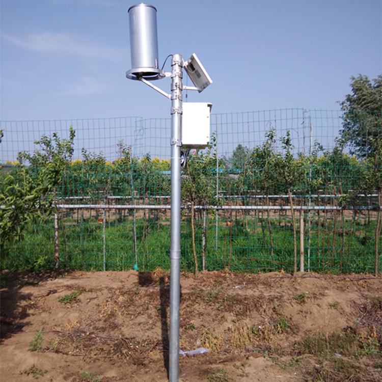 山西煤场专用自动雨量监测站 腾宇电子专业制造商图片