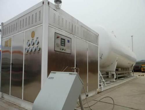 出售撬装加气装置 橇装式加气装置 地面式撬装LNG加气站图片