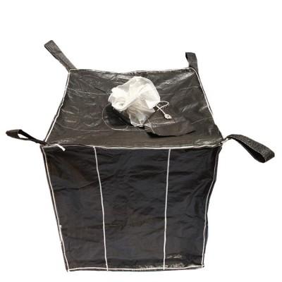 集装袋吊装碳黑方形四角集装吨袋定制方形环保塑料碳黑兜底集装袋