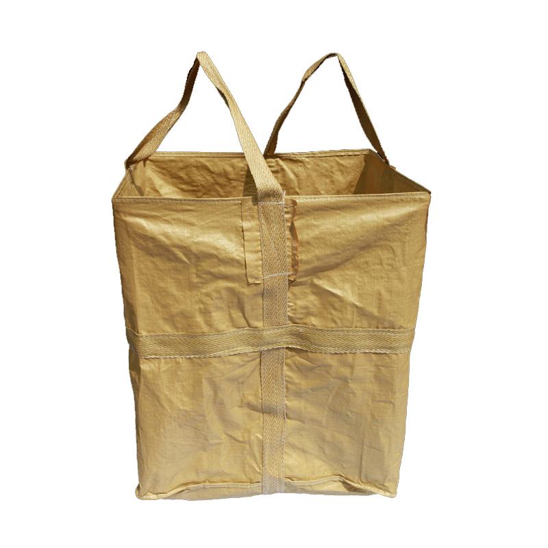 山东临沂吨包厂家批发供应商12.5一条两吊托底集装袋现货图片