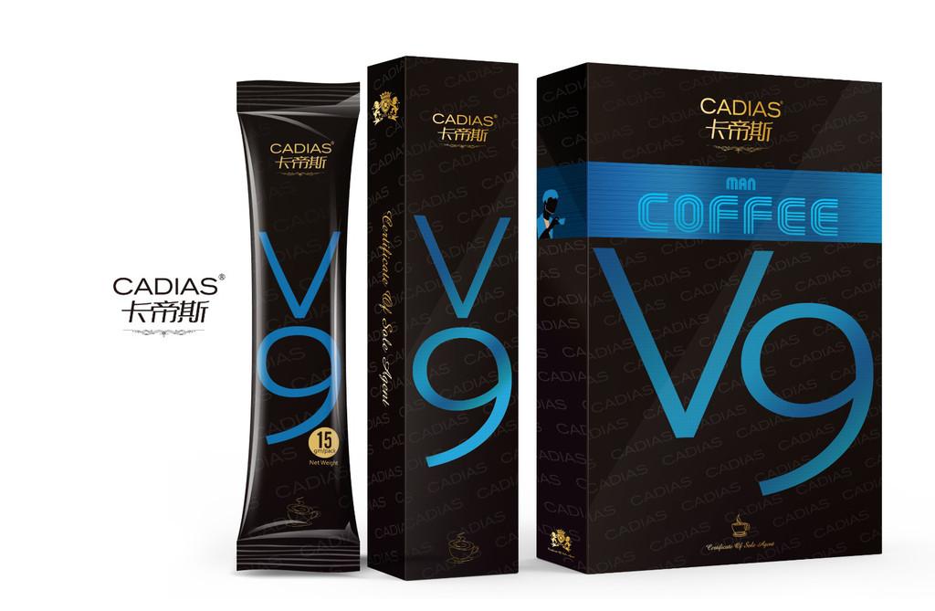 卡帝斯V9*咖啡图片