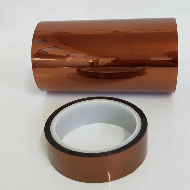 金手指双面胶带耐高温双面胶带PI聚酰亚胺双面薄膜胶带图片