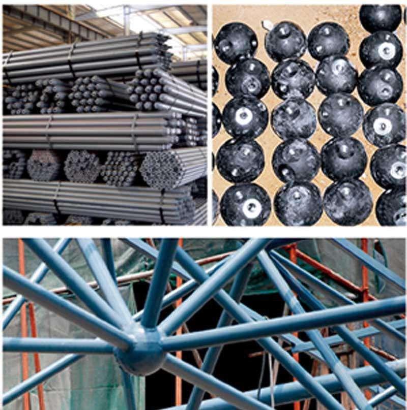 济南网架公司-济南螺栓球网架加工厂-济南焊接球网架公司图片