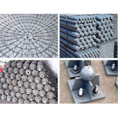 山东菏泽网架工程公司-菏泽螺栓球网架公司-菏泽焊接球网架