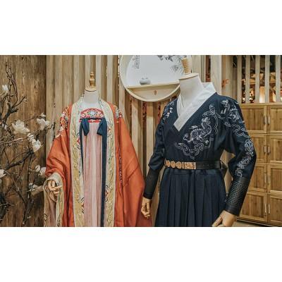 合肥汉服体验馆装修要点,让人仿若穿越千年的汉服体验馆这样设计