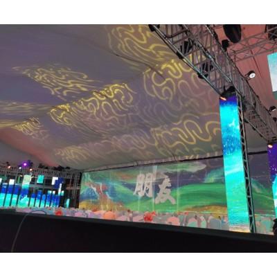 全息纱幕 投影纱幕 舞台宴会全息纱幕 3D立体投影纱幕图片
