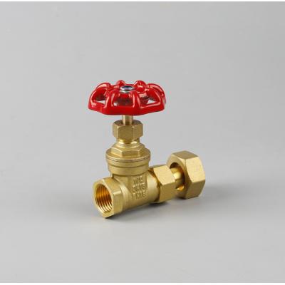 自来水管专用表前闸阀4分6分一寸活接闸阀 水表前伸缩闸阀