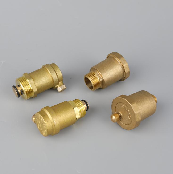 直排式自动放气阀快速黄铜排气阀