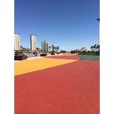 宜昌市 出售透水地坪,艺术地坪,彩色透水混凝土,压印混凝土