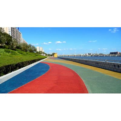 襄阳市 出售透水地坪,印花地坪,艺术地坪,彩色透水混凝土