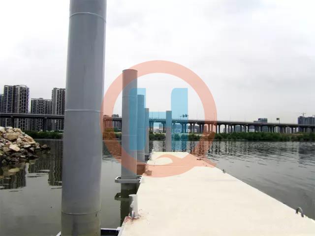 混凝土浮码头浮桥混凝土水上栈道欢迎咨询订购