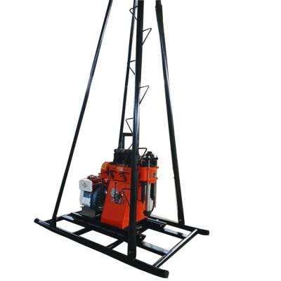 直推式GY-200履带百米水井钻机分拆方便 地矿勘测设备