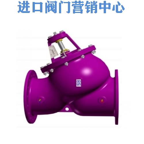 台湾十全铸铁多功能阀 球墨铸铁多功能阀