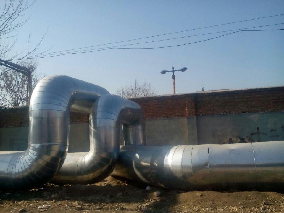 聚氨酯蒸汽管道保温工程施工铝板设备保温工程队图片