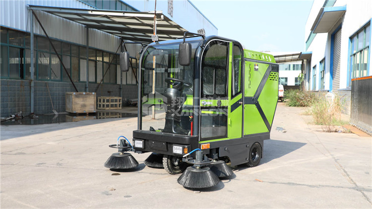 电动扫路车 全封闭式扫路车 新能源扫地机厂家