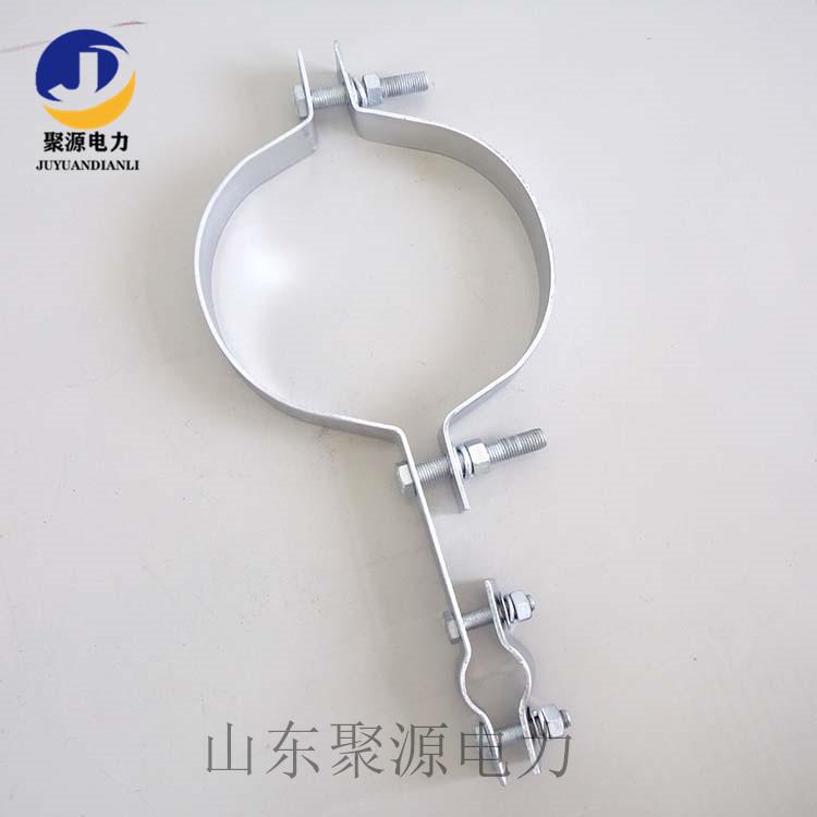加固型抱箍电缆保护管子母抱箍图片